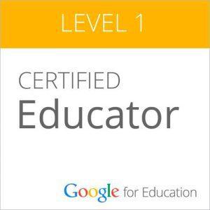 Certificado Google Educación Level 1