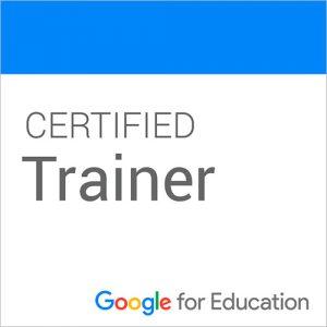 Certificado Google Educación Trainer